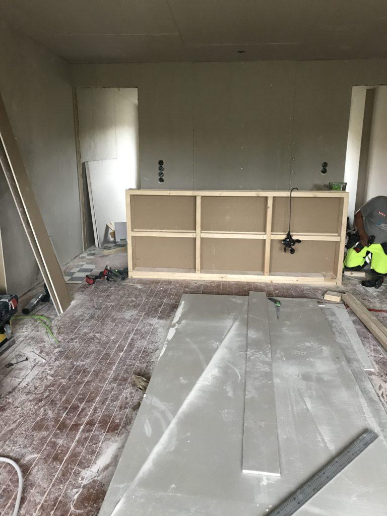 Leilighet som renoveres, renovasjon av leilighet, leilighet, renovering leilighet og hus i Ski og Follo